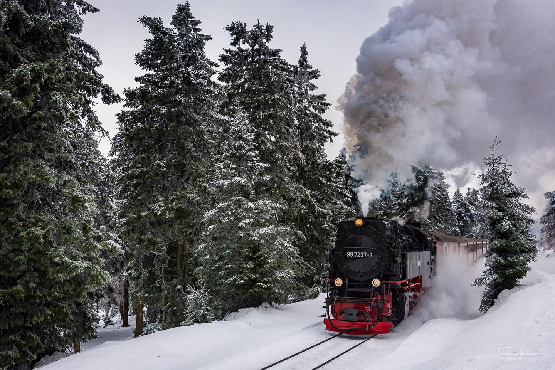 Brockenbahn im Harz - Sachsen-Anhalt