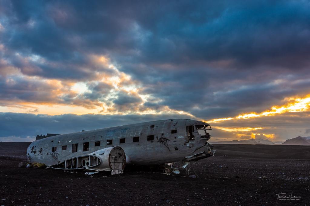 DC-3 Flugzeugwrack