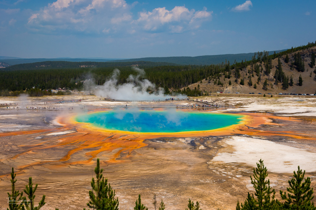 Grand Prismatic Spring - Wyoming