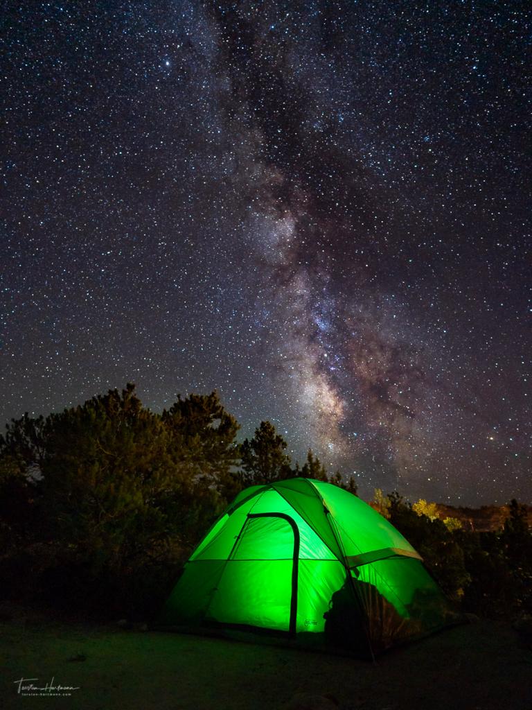 Milchstraße über Utah