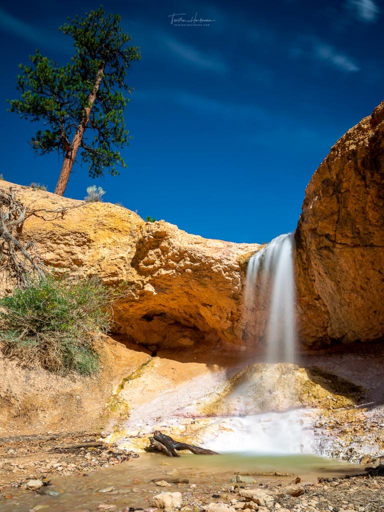 Mossy Cave Fall - Utah