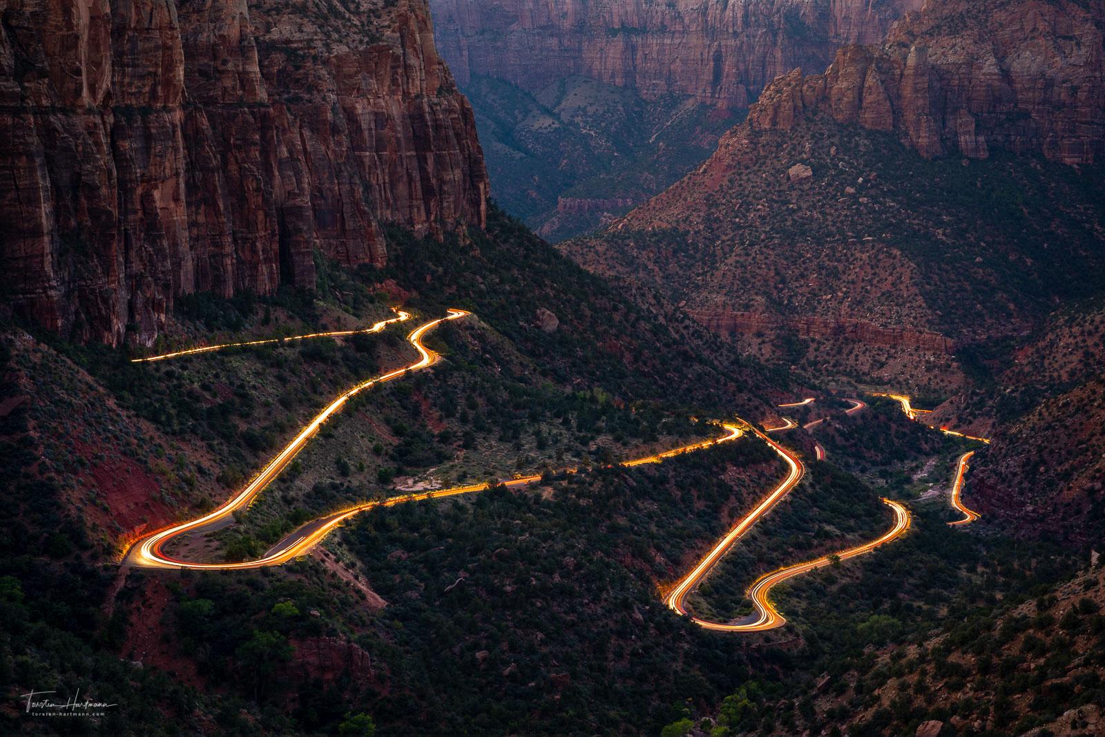 Zion Mount Carmel Highway - Utah